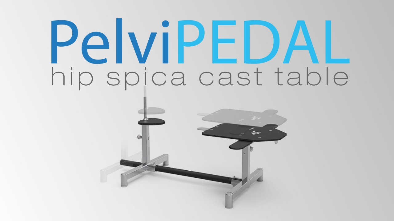 Amazing PelviPEDAL Hip Spica Table